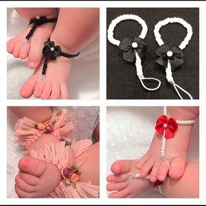 Handmade Baby Barefoot Sandals